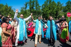 indian groom,baraat,indian groomsmen,transportation