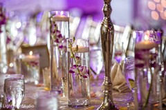 floral and decor,table centerpiece,indian wedding reception