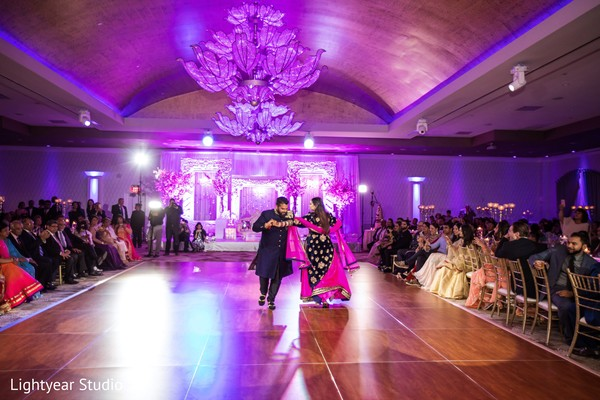 indian wedding reception,first dance,dj's and entertainment,indian bride and groom
