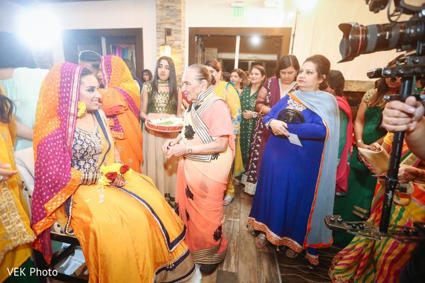 Indian wedding mehndi party capture