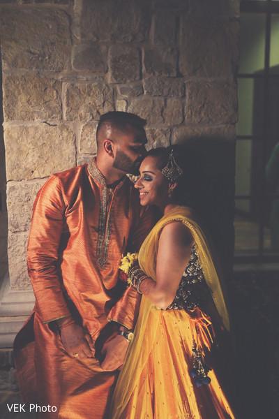 Ravishing indian bride and groom