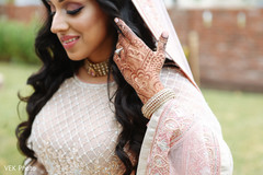 Charming indian bride