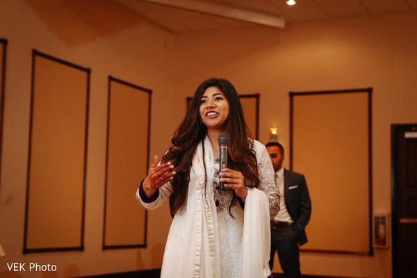 Nikkah reception speech moment