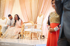 Indian bride emotional moment