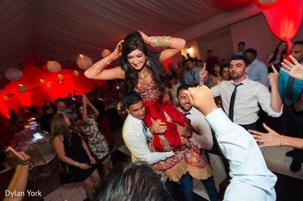indian wedding reception,indian bride,dj