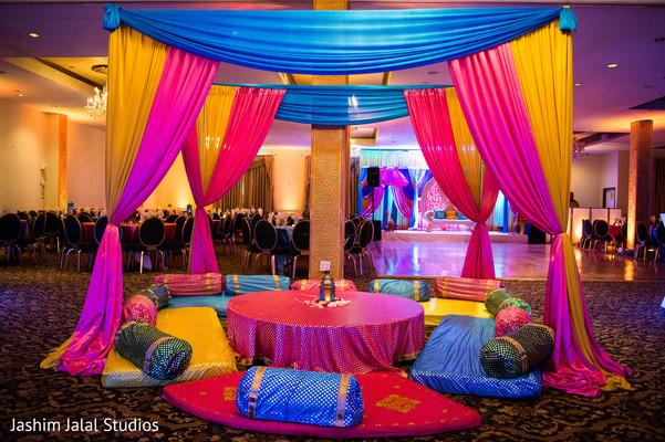 Sangeet celebration decor.