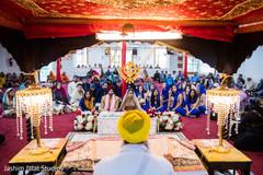 sikh bride and groom,sikh wedding ceremony,sikh wedding photography