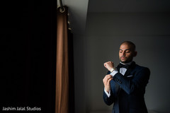 indian groom,getting ready,tux,suit