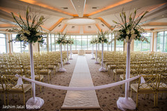 indian christian wedding ceremony,floral and decor