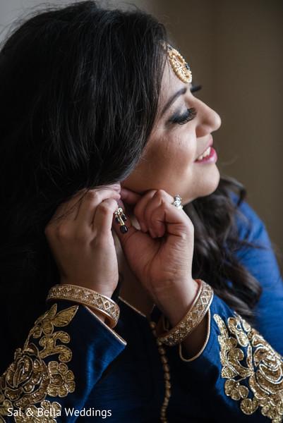 Gorgeous indian bride bracelets