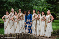 indian bridal party,indian bride fashion,indian wedding photography