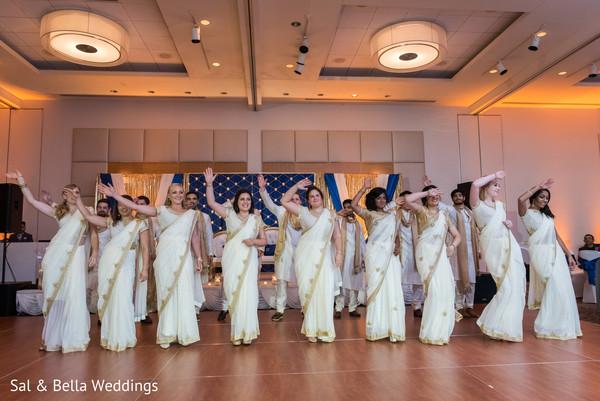 Amazing indian bridal party choreography