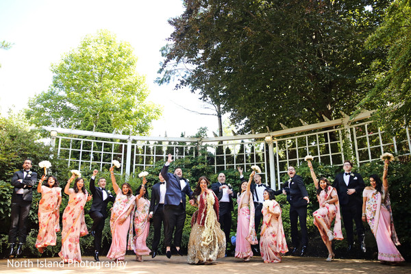 Jubilant Indian wedding photography.