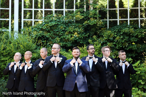 Enchanting groomsmen squad.