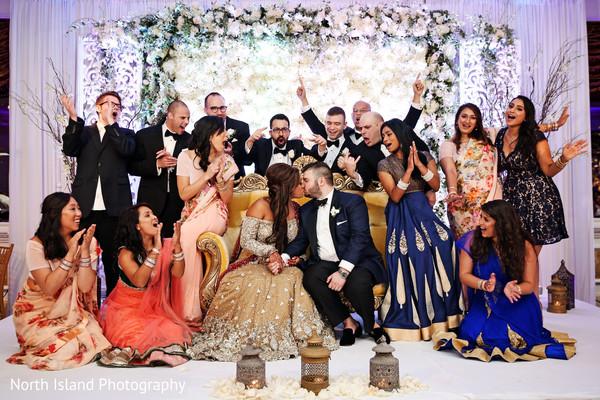 Indian fusion wedding treasured moments.