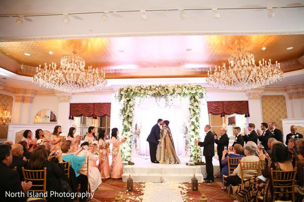 Indian fusion wedding ceremony stellar moments.