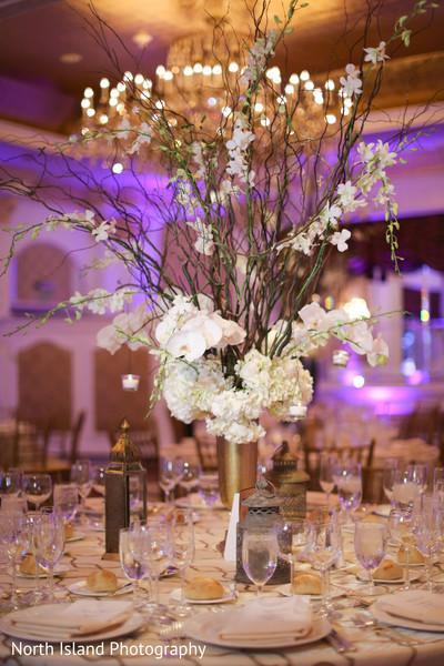Luxury Indian wedding reception.