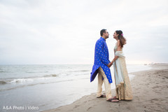 Romantic beach themed capture