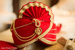 Indian groom turban