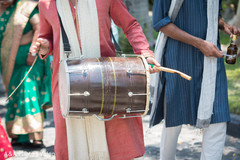 indian wedding baraat,baraat procession,pre- wedding celebrations,dhol player