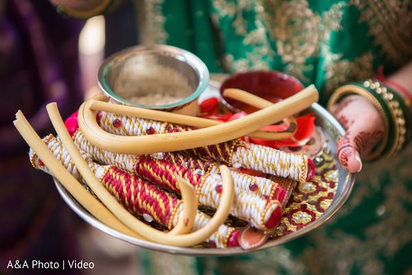Indian pre-wedding ceremony items