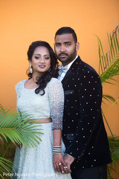 indian bride and groom,outdoor photography,indian bride fashion,indian groom fashion