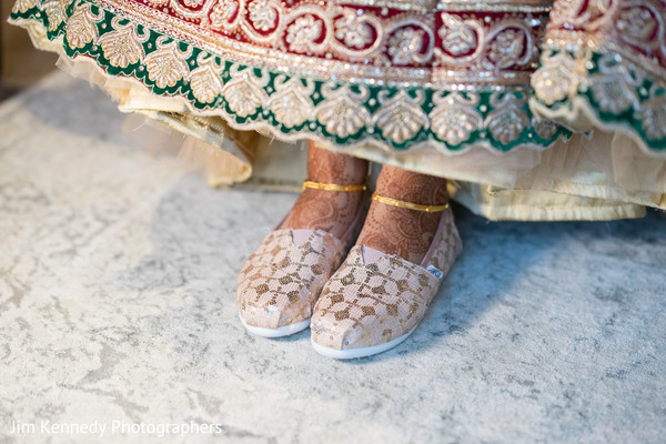 indian bride,indian bridal fashion,bridal shoes