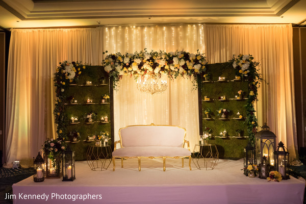 indian wedding ceremony,floral and decor,planning and design,wedding stage