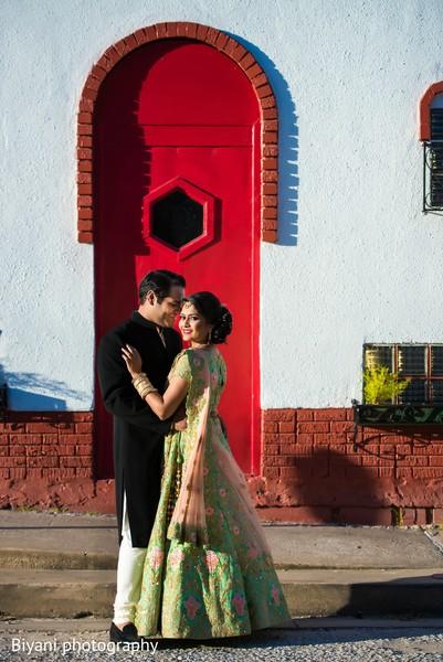 Ravishing indian bride and groom capture