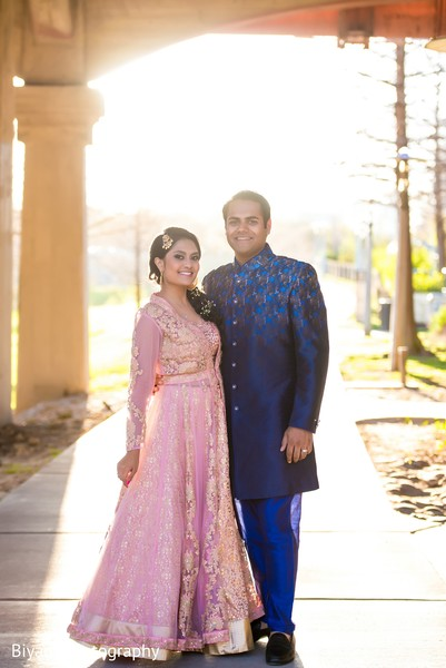 Breathtaking indian bride and groom in Houston, TX Indian Wedding by Biyani Photography