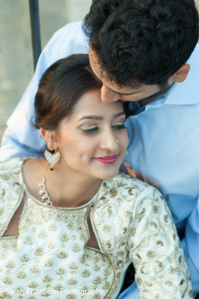 Simple and beautiful indian bride makeup in Columbus, OH South Asian Wedding by Sarah Elizabeth Photography