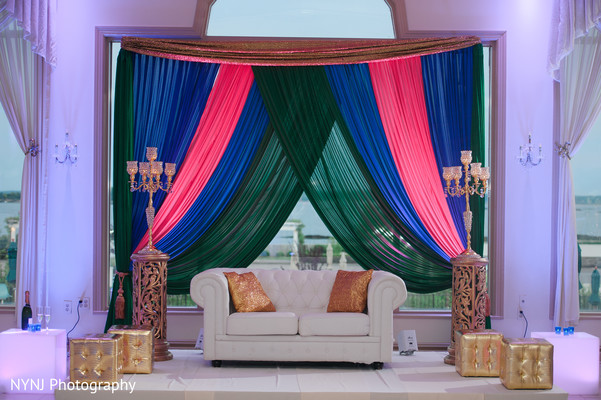 indian wedding stage,indian wedding decor,indian wedding draping