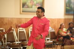 pre-wedding celebration,garba,indian groom