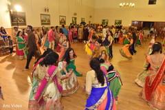 pre-wedding celebration,garba,choreography