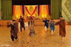 pre-wedding celebration,garba,choreography,indian bride