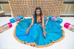 indian bride,mehndi party,henna,pre-wedding fashion