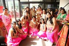 pre-wedding traditions,indian bride,indian bridesmaids