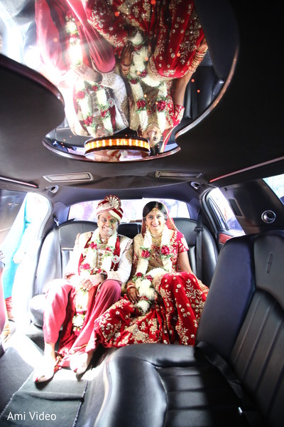 post-ceremony traditions,indian bride and groom,transportation