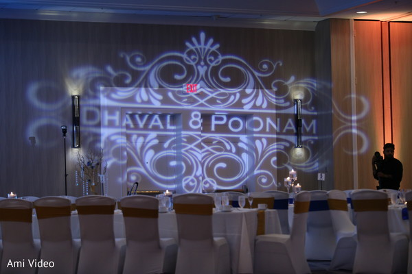 indian wedding reception,floral and decor,up-lightning,planning and design