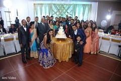indian wedding reception,wedding cake,indian wedding photography