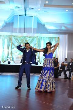 indian wedding reception,dj,choreography