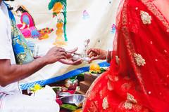 indian wedding,bridal lengha,red lengha