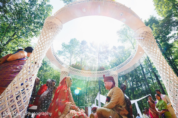 indian wedding ceremony,mandap,outdoor indian wedding