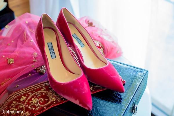 indian bridal fashion,bridal shoes