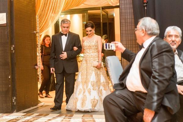reception fashion,indian wedding reception,indian bride
