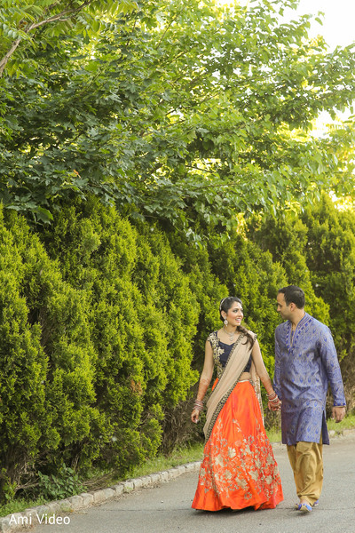 Sangeet fashion inspiration in Somerset, NJ Indian Wedding by Ami Video