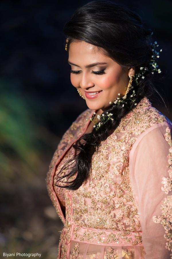 Ravishing indian bride posing for photo shoot