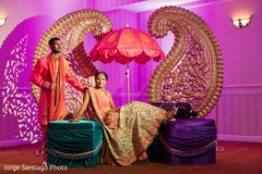 indian bride and groom,floral and decor,pre-wedding photography,sangeet
