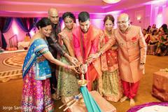 sangeet,indian bride and groom,pre wedding celebrations