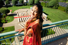indian bride,portrait,indian wedding venue
